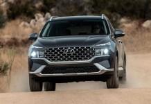 2022 Hyundai Santa Fe Hybrid specs
