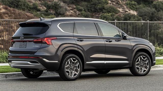 2022 Hyundai Santa Fe Hybrid