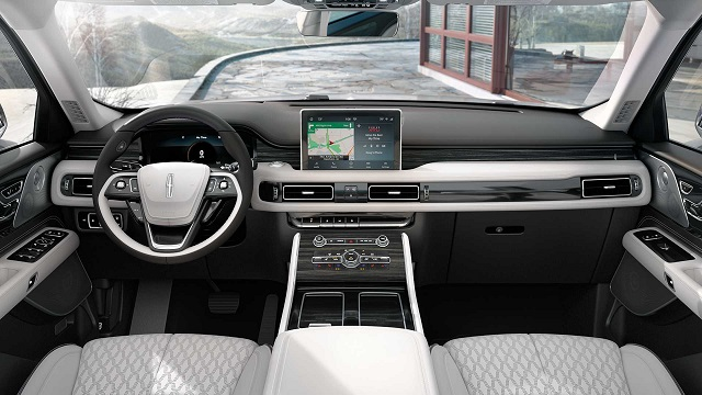 2022 Lincoln Aviator Grand Touring Interior