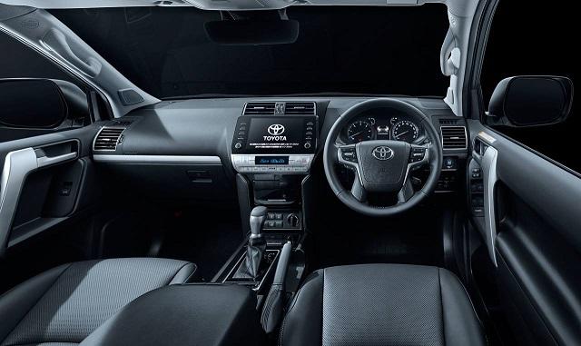 2022 Toyota Land Cruiser Prado Interior