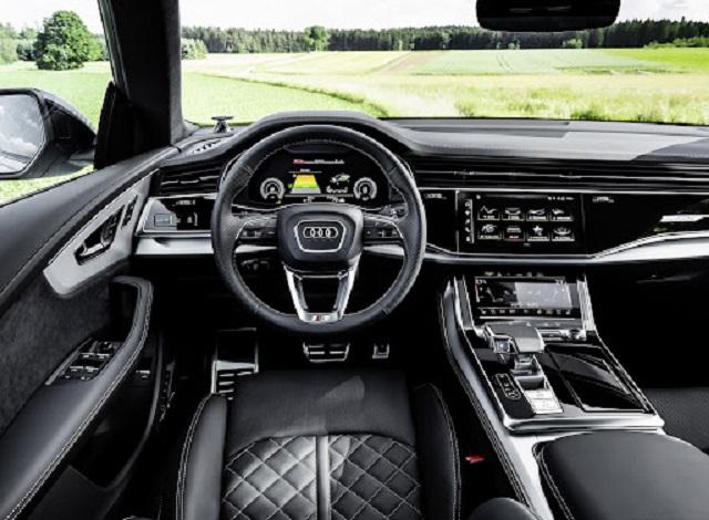 2022 Audi SQ8 Interior