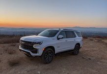 2022 Chevy Tahoe Z71 featured