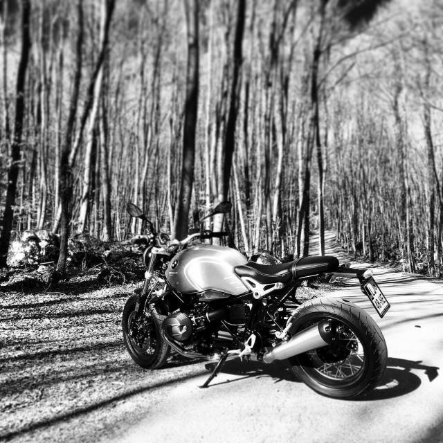 Pure joy this morning with BMW R nineT bmwmotorrad r9thellip