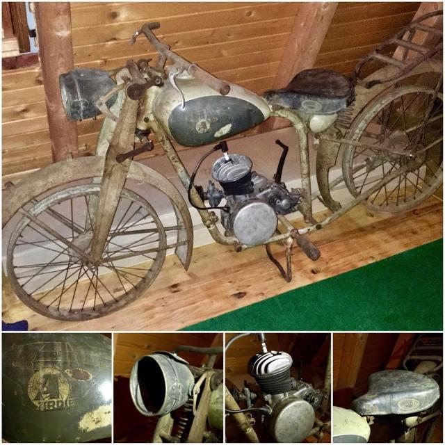 1934 Ardie 125ccm from Kamnik Slovenia oldschool vintage motorcycle 7sevencustomshellip