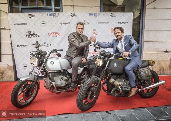 DGR Ljubljana 2017 crew amp friends bmw triumph dgr2017 gentlemansridehellip