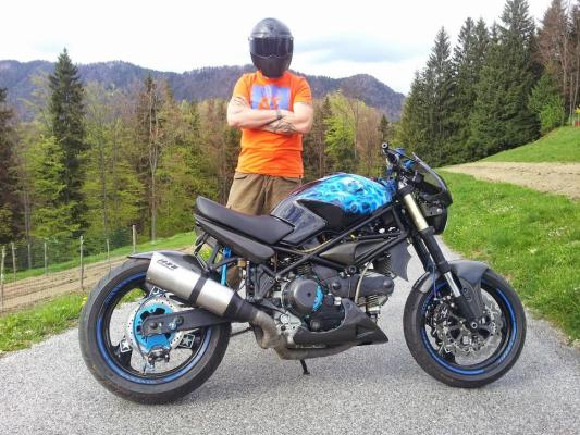 Ducati Monster Carbonara
