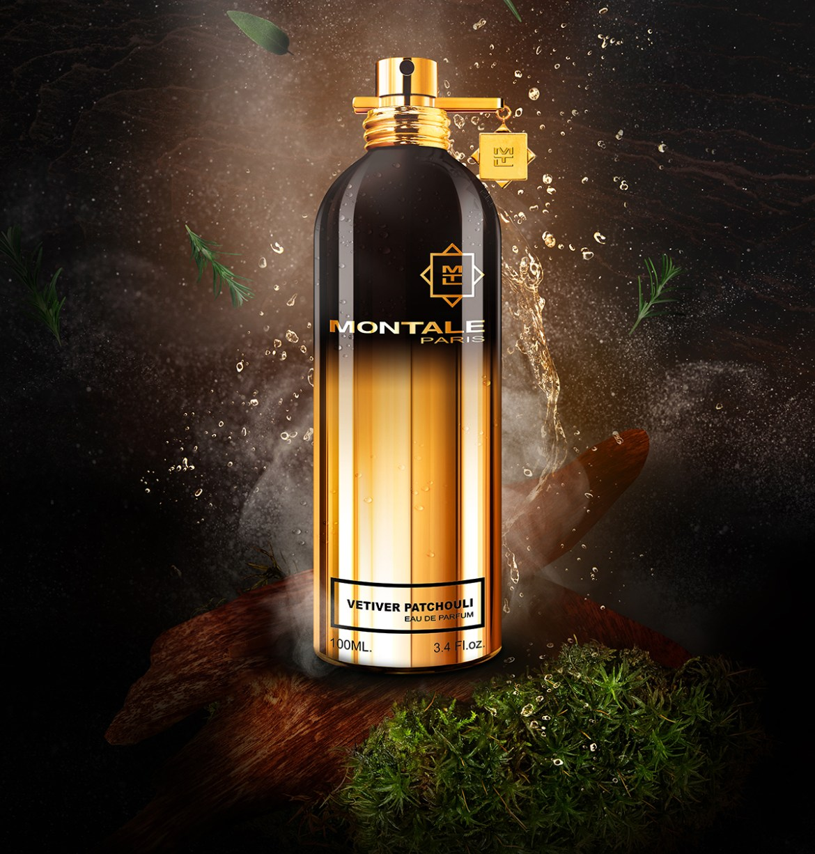 Парфюмерная вода Vetiver Patchouli от Montale