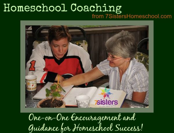 Homeschool Coaching from 7SistersHomeschool.com via Skype or email