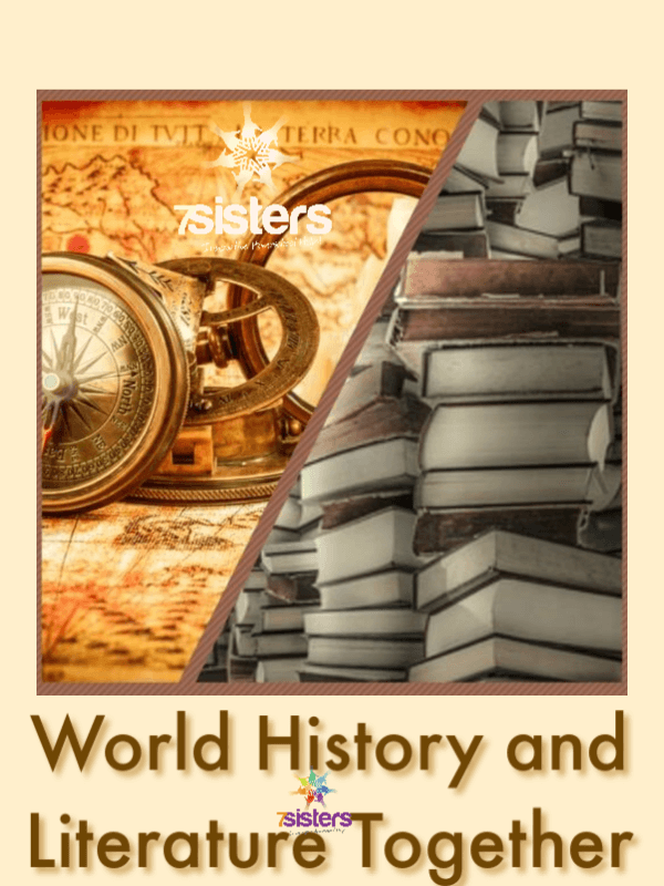 Homeschool High School World History and Literature Together. Combine World History studies with World Literature studies for powerful credits for the homeschool transcript.