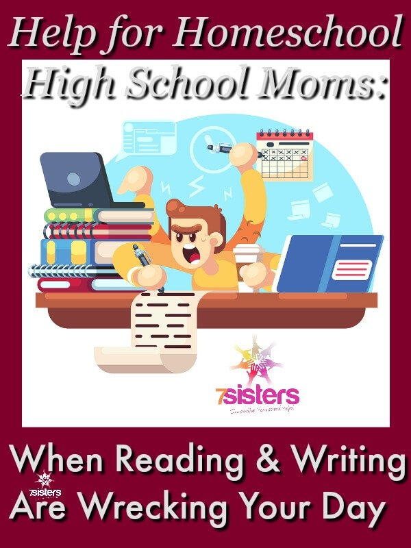 Help for High School: When Reading and Writing are Wrecking Your Day