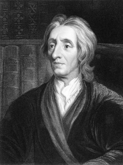 Philosophers like John Locke run the world- just from the back side...