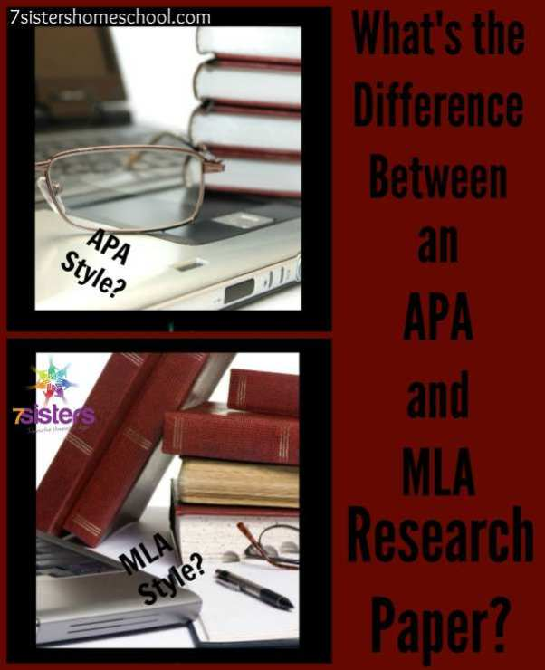 Difference between APA and MLA