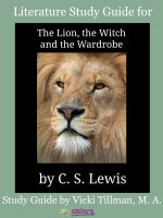 Chronicles of Narnia Literature Study Guide #1: The Lion, the Witch and the Wardrobe for High Schoolers