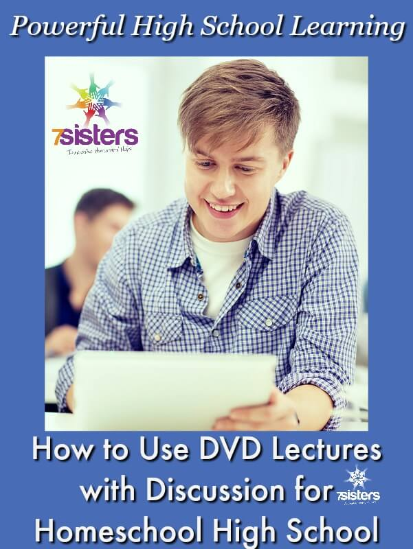 How to Use DVD Lectures with Discussion for Powerful High School Learning