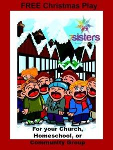 Free Christmas Play for Your Homeschool or Church Group 7SistersHomeschool.com