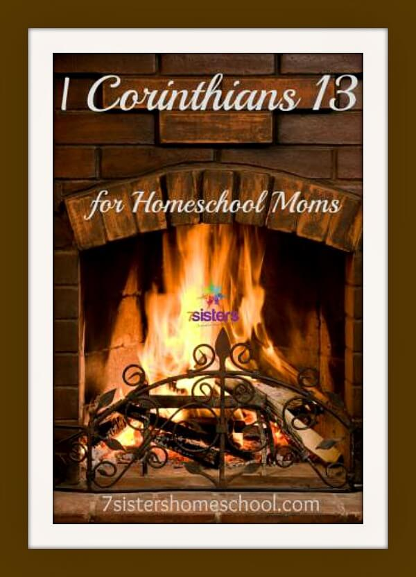 A Homeschool Mom's 1 Corinthians 13