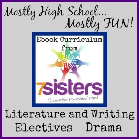 7Sisters Homeschool Curriculum is mostly high school and mostly fun!