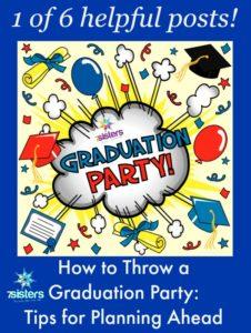 Rhythms of Homeschool Senior Year Graduation Party: Planning Ahead