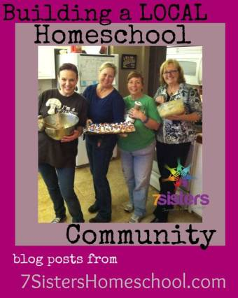 Homeschool Community: Building a Group Locally blog posts from 7SistersHomeschool.com
