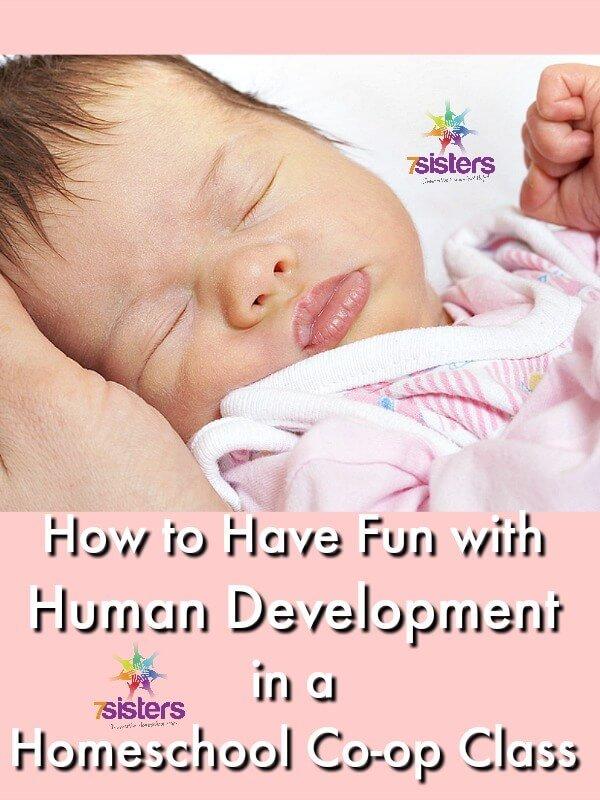 Human Development in a Homeschool Co-op Class