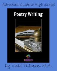 Advanced Guide to High School Poetry Writing from 7 Sisters Homeschool