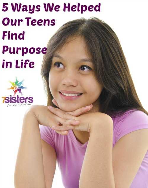 Help Teens Find Purpose