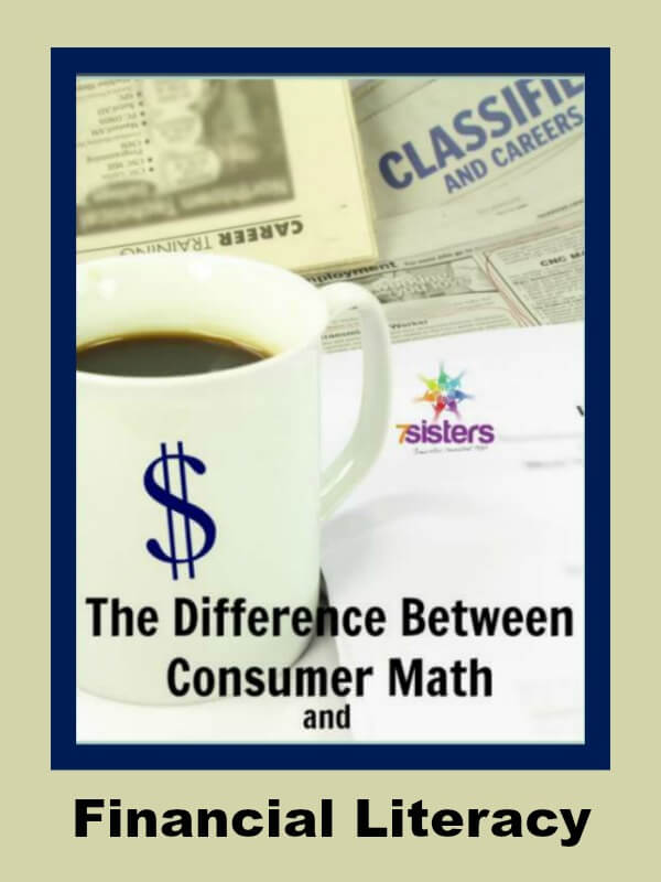 The Difference Between Consumer Math and Financial Literacy