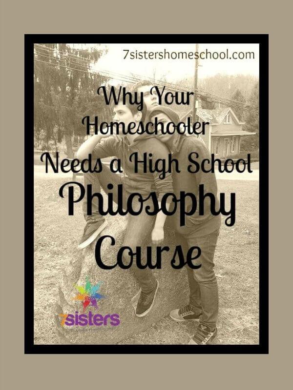 High School Philosophy Course