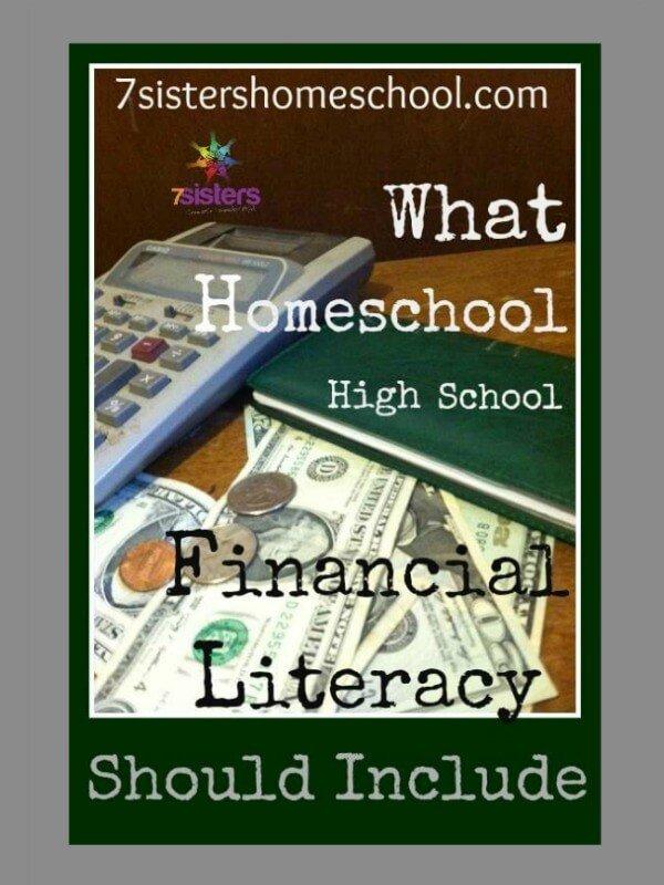 homeschool high school financial literacy