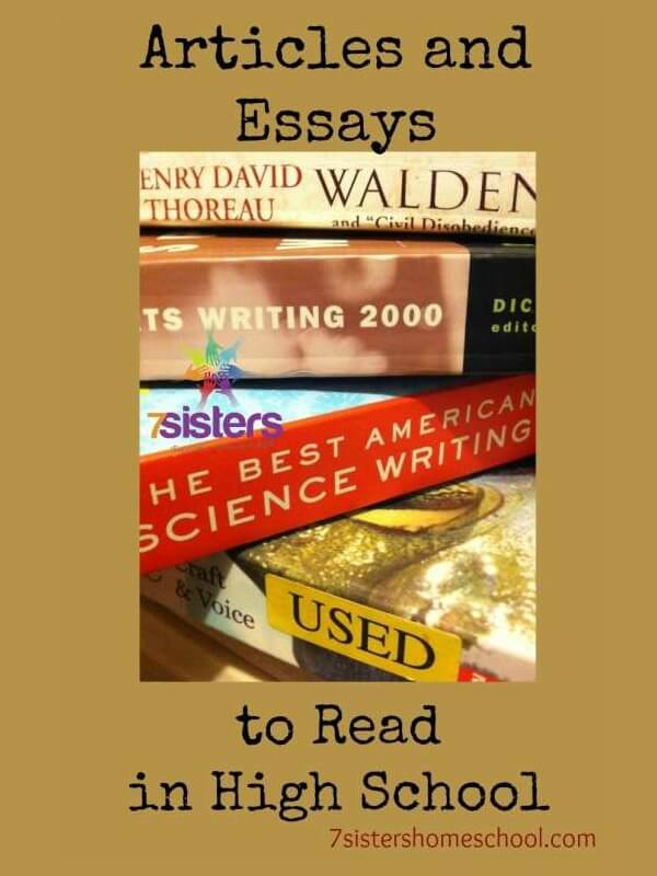 Essays for students to read