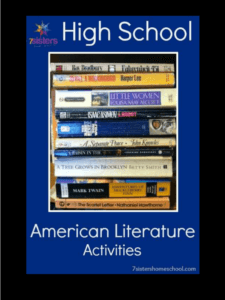 An Authoritative Guide to Literature for Homeschool High School High School American Literature Activities