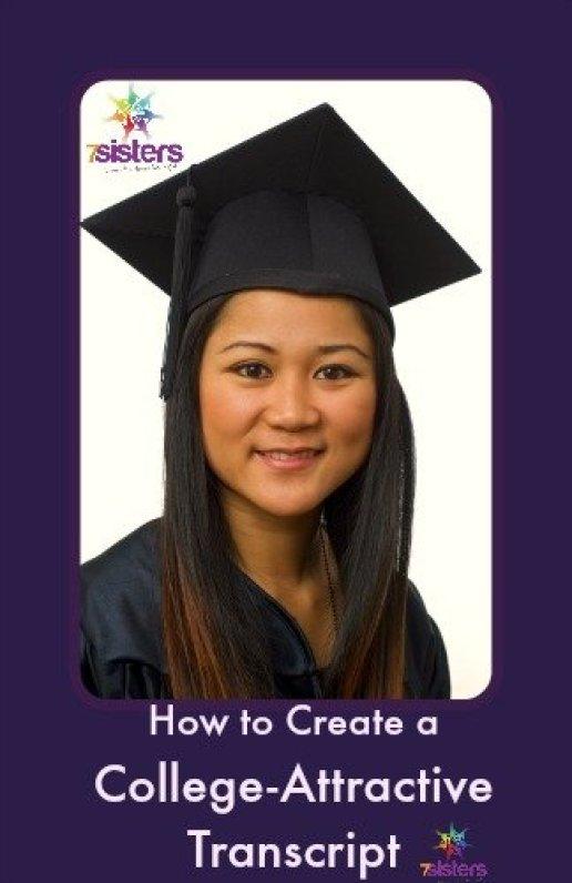 How to create a college-attractive transcript