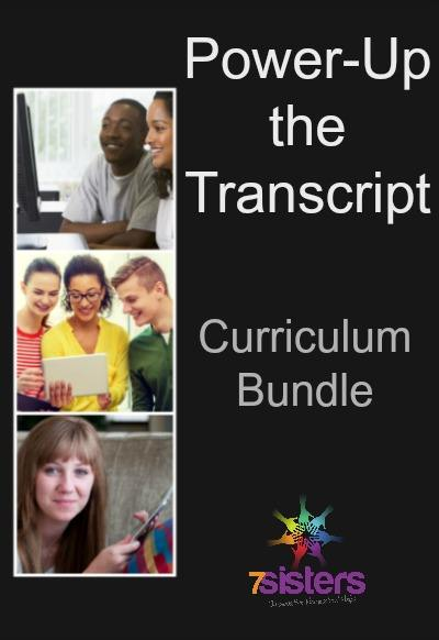 Curriculum Bundle: Financial Literacy, Human Development, Intro to Psychology, Career Exploration, Early Childhood Education to POWER UP THE TRANSCRIPT