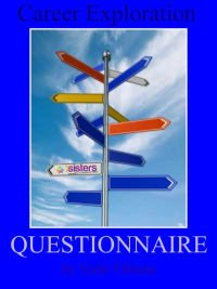 Career Exploration Questionnaire. Freebie introduction to Career Exploration from 7SistersHomeschool.com