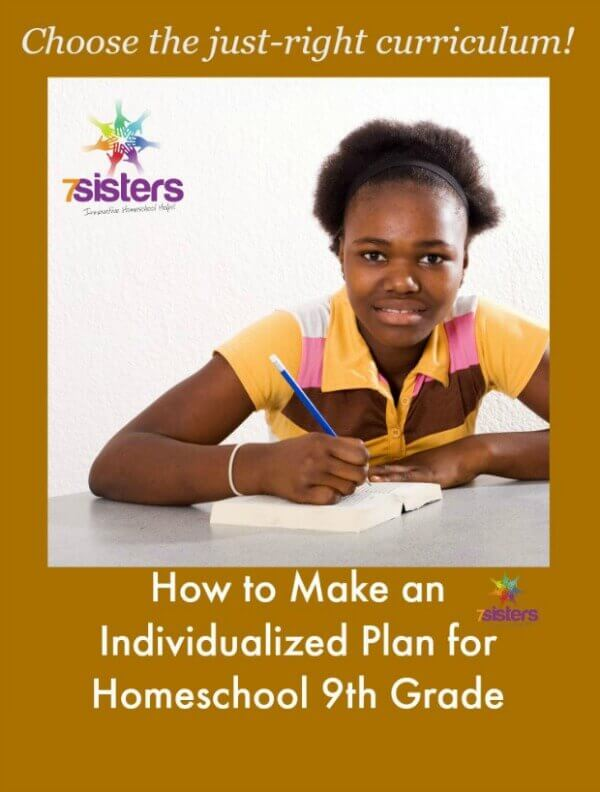How to Make an Individualized Plan for Your Homeschool 9th Grader