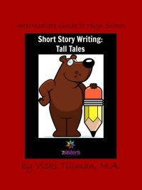 Tall Tales Writing Guide for High School from 7SistersHomeschool.com