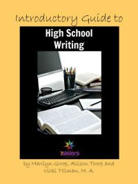 Yearly Writing Projects Introductory Writing