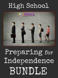Preparing for Independence BUNDLE 7SistersHomeschool.com