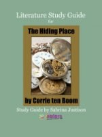 The Hiding Place Literature Guide 7SistersHomeschool.com