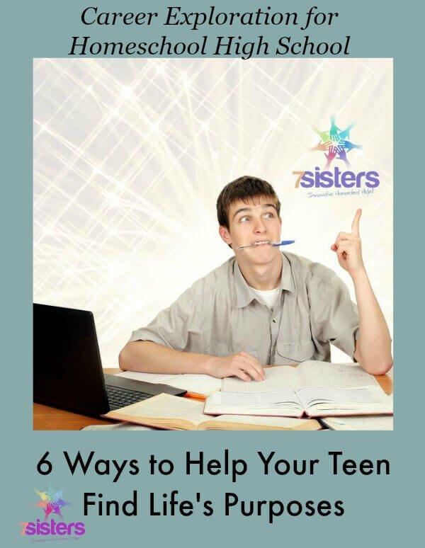 Career Exploration for Homeschool Teens 7SistersHomeschool.com