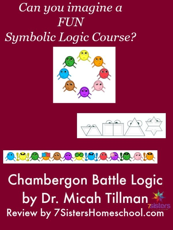 Logic Course for Homeschool High Schoolers: Learn Logic by computer game designed by Dr. Micah Tillman, homeschool graduate.