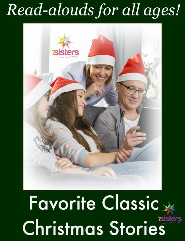 Favorite Classic Christmas Stories for Homeschooling Families 7SistersHomeschool.com Homeschool reading and activities for the Christmas holidays.