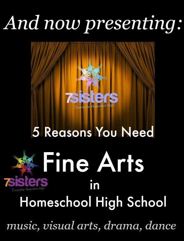 Fine Arts in Homeschool High School