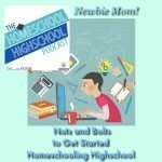 HSHSP Ep 72 Nuts and Bolts to Get Started Homeschooling Highschool