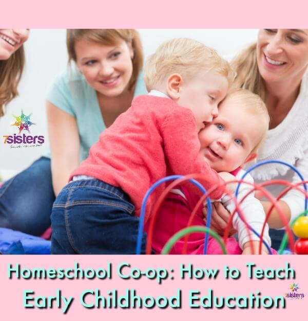 How to Teach Early Childhood Education in Homeschool Co-op