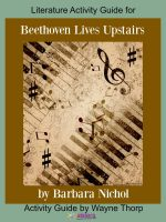 Activity Guide: Literature Activity Guide for Beethoven Lives Upstairs