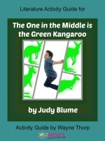 Activity Guide: Literature Activity Guide for The One in the Middle is a Green Kangaroo