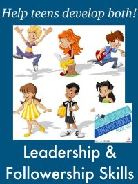Homeschool Highschool Podcast Episode 31: Leadership & Followership Skills