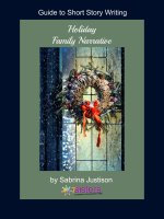 Guide to Short Story Writing: Holiday Family Narrative