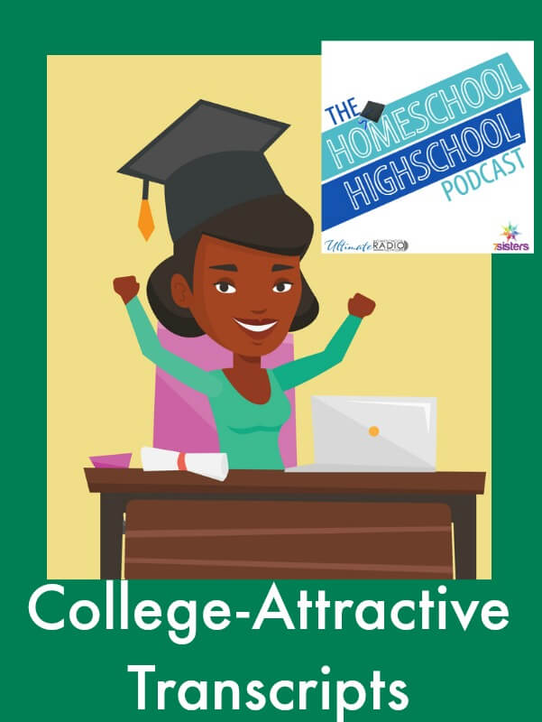 Homeschool Highschool Podcast Ep 50 College-Attractive Transcripts How-to